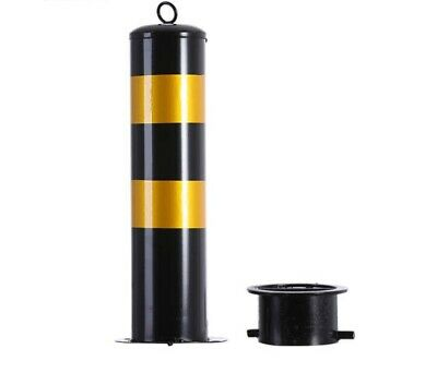 Traffic Road Pile Bollard Warning Post Parking Barrier Barricade With Key