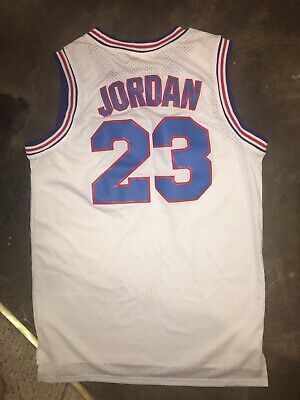 New Michael Jordan Space Jam Tune Squad Size Mens Large Basketball Jersey Tank