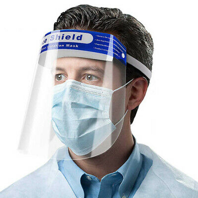 Safety Full Face Shield Clear Protector Work Industry Dental Anti-Fog 1pc SAVING