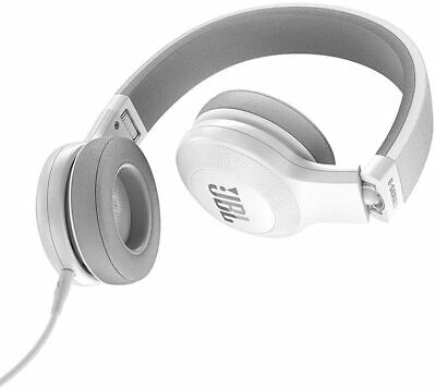 JBL E35 On Ear Signature Headphones With Mic - White - Open Box