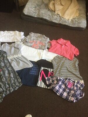 girls clothes bundle age 7-8 years Inc Next Tammy Gap E.arydale Prmark 10 Items