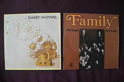 Family ( Roger Chapman ) *  Anyway + Old Songs , New Songs * 2 LPs