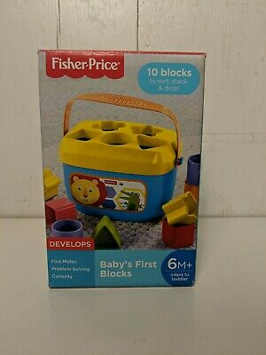 Baby's First Blocks Infant Toy by Fisher Price