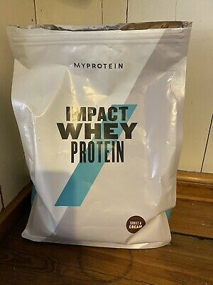 MyProtein Impact Whey Protein Used Cookies & Cream