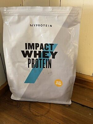 MyProtein Impact Whey Protein Used Golden Syrup