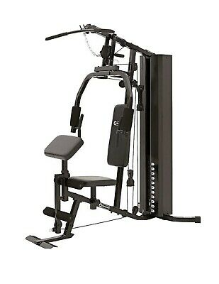 Dynamics Compact Home Weights Multi Gym (Back Chest Legs) Lat Pull Press (New)
