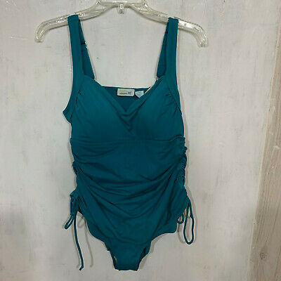 Teal One Piece Teal Swim 365 Plus Size Womens Swimsuit