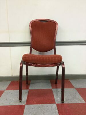 MTS Banquet Interlocking Red Chairs Qty. 10