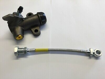 Classic Mini Clutch Slave Cylinder & Stainless Hose Verto Clutch  1983 - 2000