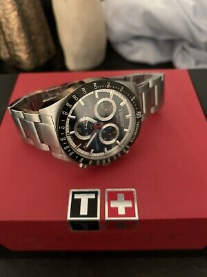 Tissot PRS516 Chronograph Stainless Steel