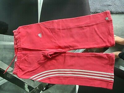 Adidas Age 3 Girls Track Suit Bottoms Please Look At Pics