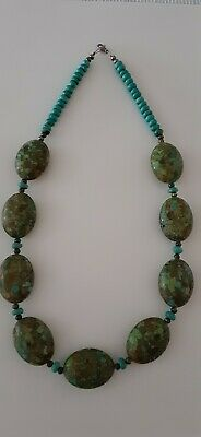 New! Genuine Beautiful Green/Turquoise 20 inch  Necklace.