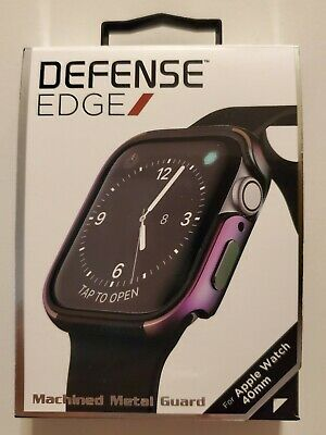 X-Doria - Defense Edge Case for Apple Watch 40mm Series 4 - Iridescent - NEW