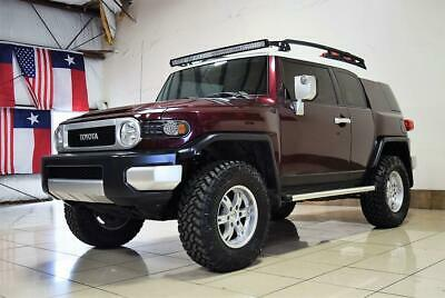 2007 Toyota FJ Cruiser LIFTED 4X4 TOYOTA FJ Cruiser 4X4 LIFTED 6 SPEED MANUAL RR DIFF LOCK BBS WHEELS ARB TINT