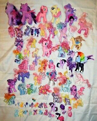 HUGE LARGE LOT OF My Little Pony FIgures - LOOK!!