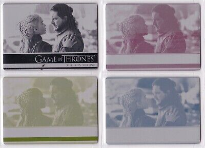 Game Of Thrones Season 8, Complete #17 Printing Plate Card Set 1/1