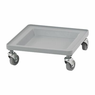 Cambro Camdolly in Grey Polypropylene - Durable & Lightweight - 187x530x545mm