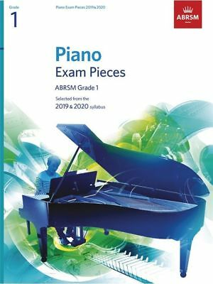 ABRSM Piano Exam Pieces Book Only 2019 - 2020, Grade 1  #P