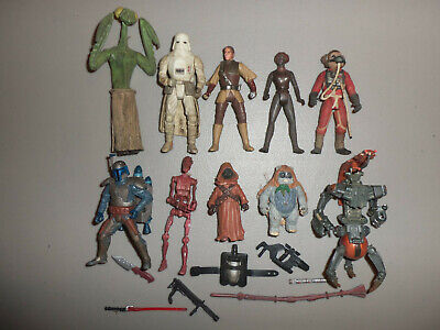 """STAR WARS MODERN WEAPON LOT 2 PC /""""ANTENNA/"""" CLONETROOPERS GREAT SHAPE FIGURE"""