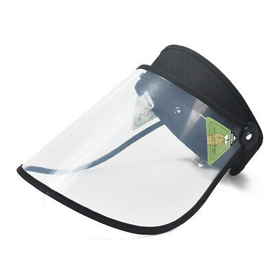 Clear Sun Hat Face Saliva-proof Splash Cap Full Face Protective Shield 5 Colors
