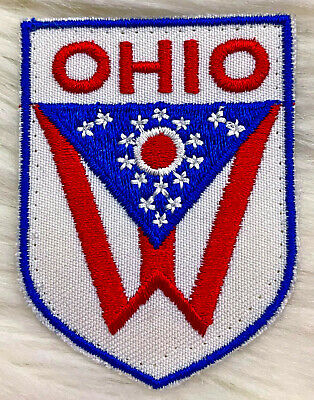 """Oregon 3.5/"""" Embroidered Iron or Sew-on Patch Travel Souvenir Mount Hood"""