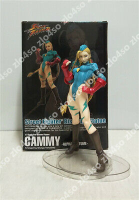 Street Fighter Alpha Costume Bishoujo Cammy PVC Figure New Loose 22cm