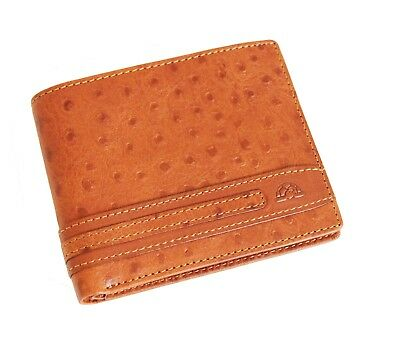 Leather Wallet With Coin Pocket Tony Perotti Italian Leather Brown TP-0533G