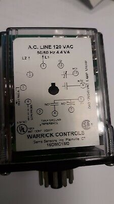 Warrick 16DMC1M0 level controller controls relay w// base used but super clean