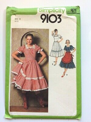 Simplicity 10502 Misses Dress Length /& Tier Variations Sewing Pattern Sz 12-20