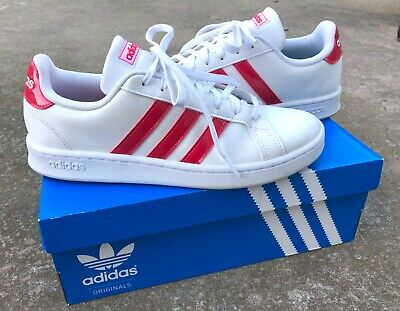 adidas cloudfoam blue and white