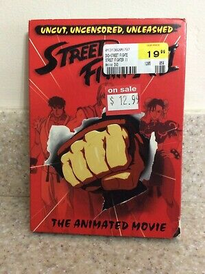Street Fighter Ii The Animated Movie Dvd 2006 9 49 Picclick