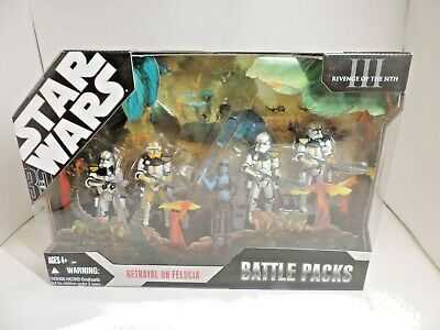 Star Wars Battle Pack Betrayal On Felucia 2006 Revenge Of The Sith 81 00 Picclick