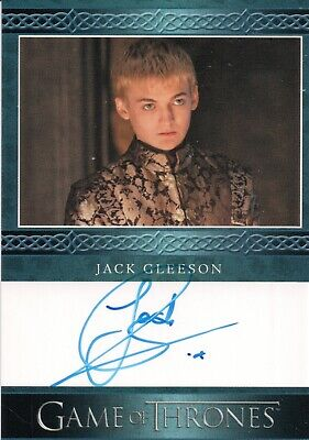 Game Of Thrones Season 8, Jack Gleason (Joffrey Baratheon) Autograph Card