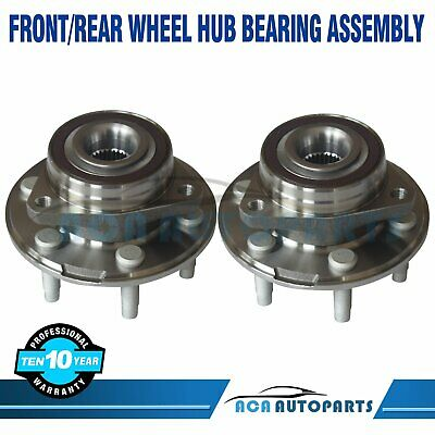 Front Wheel Bearing and Hub Assembly fits 2016 Cadillac CTS Notes: 3.6L AWD