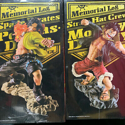 Ace The most lottery One Piece Memorial log F Prize Memorial original art Luffy