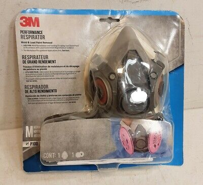 3M 6297P1 Lead Paint Removal Respirator - Pack of 1(N)