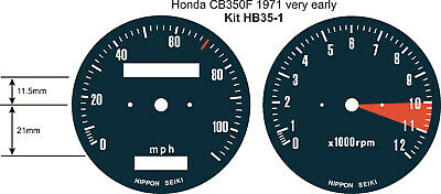 Honda Genuine 37100-SC5-771 Combination Meter Assembly