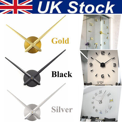 Large Wall Clock DIY Movement for Quartz Hands Mechanism Repair Tool UK