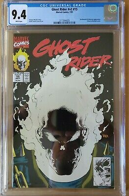 GHOST RIDER #24 1990 more GR in store NM+ Death Motorcycle Texeira