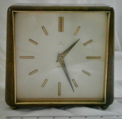 1950s  H.A.C. Exacta mantle clock – not chiming, for spares or repair