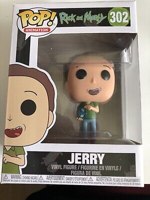 FUNKO RICK /& MORTY JERRY #302 OFFICIAL LICENSED VINYL FIGURE
