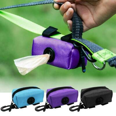 Portable Pet Dog Waste Poo Puppy Pick-Up Bags Pets Poop Bag Holder Hook Pouch