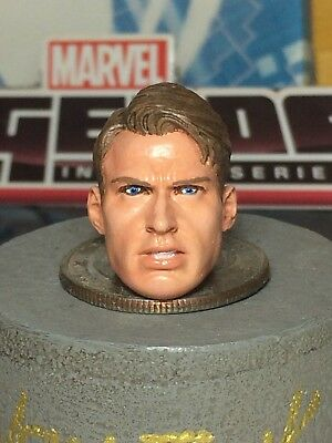 MARVEL LEGENDS HT RS 2020 CUSTOM THE PRESIDENT TRUMP 1:12 HEAD CAST FOR 6IN FIG