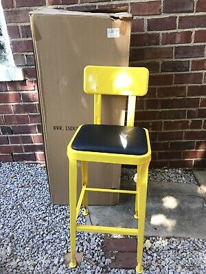 Industry West Octane Counter Stool MA-888-H65ST-YELLOW