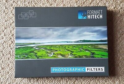 Hitech 100 ND Hard Grad Filter Kit c//w Metal Holder,3xND Filters,82mm Wide Rng