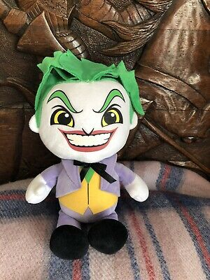 DC Comics The JOKER 27cm Soft Plush Toy Brand New with Tags