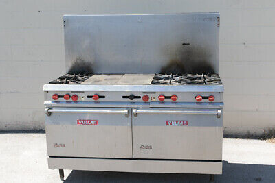 Vulcan Oven Griddle Stove 120v and GAS
