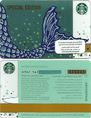 Starbucks Cards UK Autumn 2019 Special Edition X2