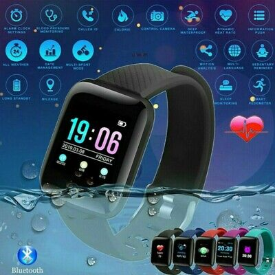 US Smart Watch Waterproof Heart Rate Tracker Fitness Wristband for IOS Android