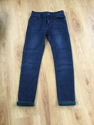 BNWT Boys Next Skinny Turn Up Jeans, Age 11years